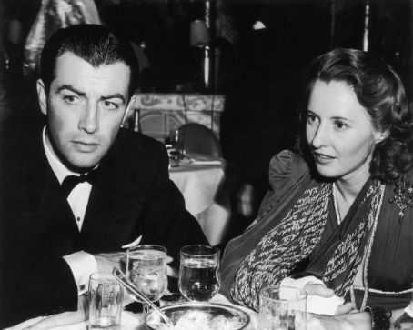 Robert Taylor Barbara Stanwyck and