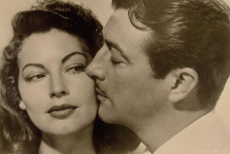 Ava Gardner  and Robert Taylor