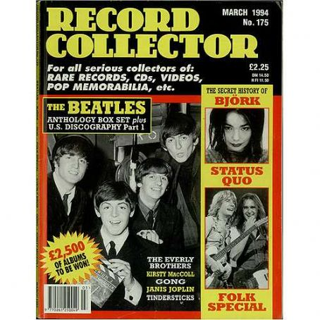 George Harrison - Record Collector Magazine [United Kingdom] (March 1994)