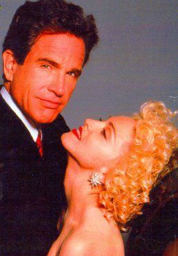 Warren Beatty Madonna and