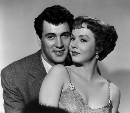 Rock Hudson  and Piper Laurie