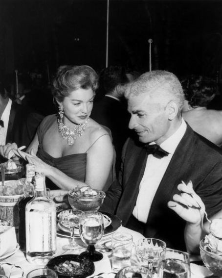 Esther Williams  and Jeff Chandler