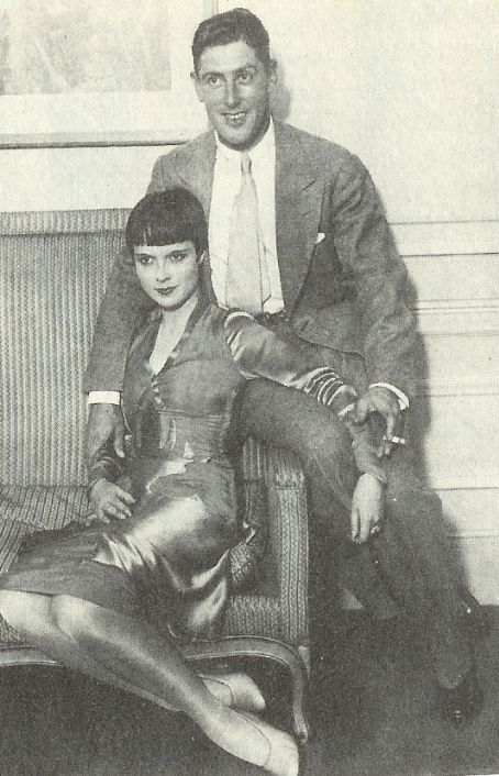Louise Brooks Eddie Sutherland and