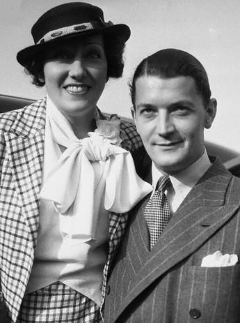 Gloria Swanson  and Michael Farmer
