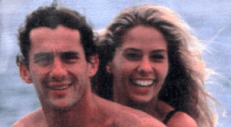 Adriane Galisteu Ayrton Senna and