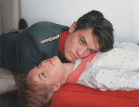 Romy Schneider Alain Delon and