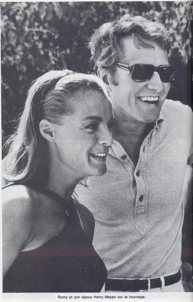 Romy Schneider  and Harry Meyen