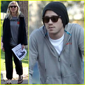 Kirsten Dunst & Garrett Hedlund: Missing Cat Search Party