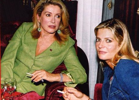 Catherine Deneuve  and Chiara Mastroianni