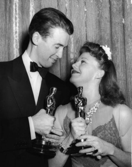 Ginger Rogers Jimmy Stewart and