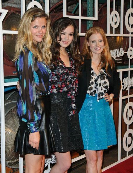 Brooklyn Decker, Hailee Steinfeld and Jessica Chastain at The Shops at Target Party (September 5)