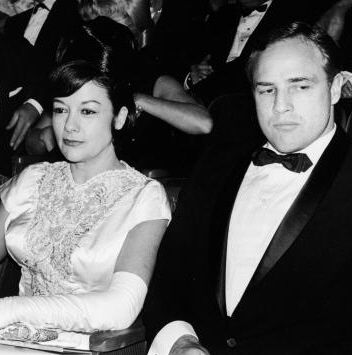 Marlon Brando  and Movita Brando