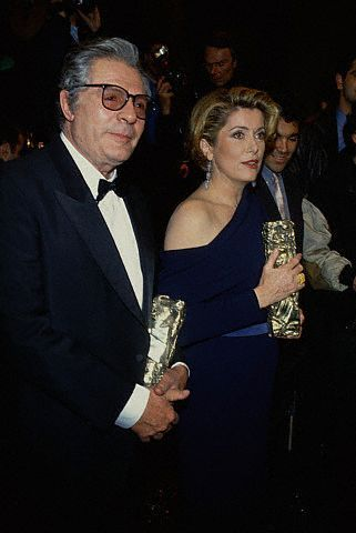 Catherine Deneuve  and Marcello Mastroianni