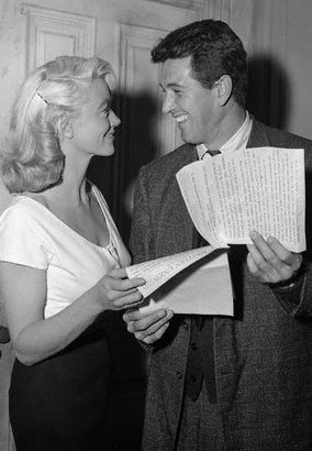 Dorothy Malone  and Rock Hudson