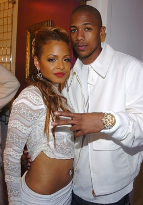 Nick Cannon  and Christina Milian