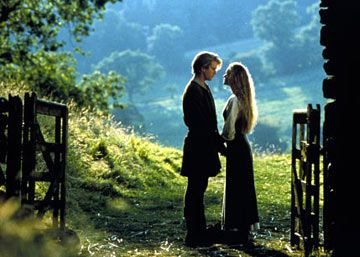 Robin Wright Cary Elwes and  in The Princess Bride (1987)