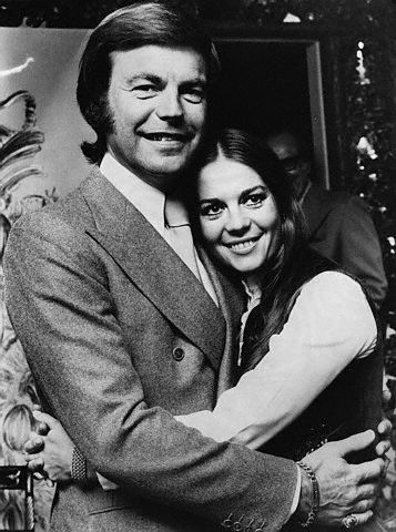Robert Wagner  and Natalie Wood