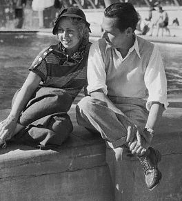 Joan Blondell  and George Barnes