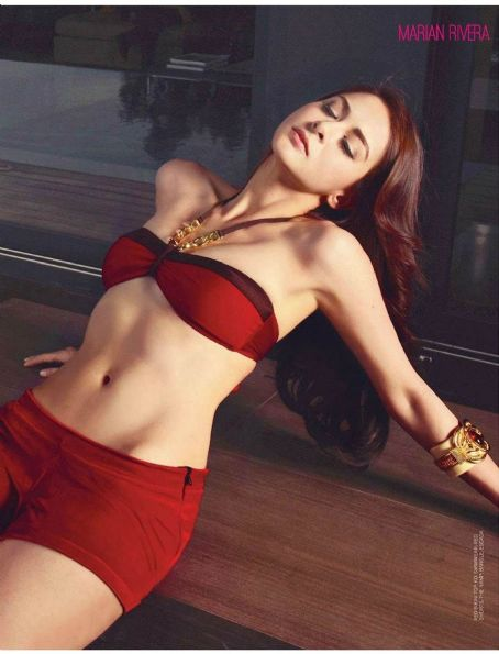 Marian Rivera FHM Philippines January 2013