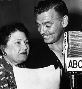 Clark Gable Louella Parsons and