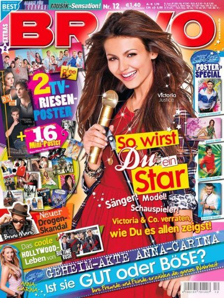 Victoria Justice - Bravo Magazine Cover [Germany] (16 March 2011)