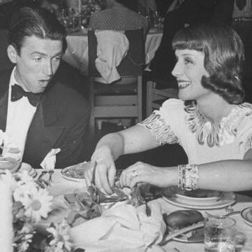 Norma Shearer Jimmy Stewart and