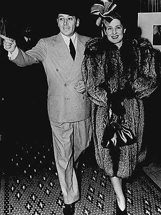 Norma Shearer  and George Raft
