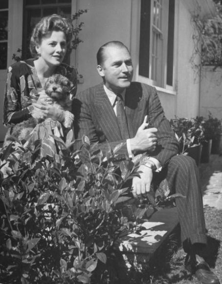 Joan Fontaine Brian Aherne and