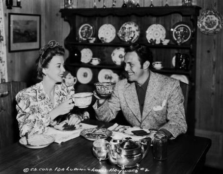 Ida Lupino  and Louis Hayward