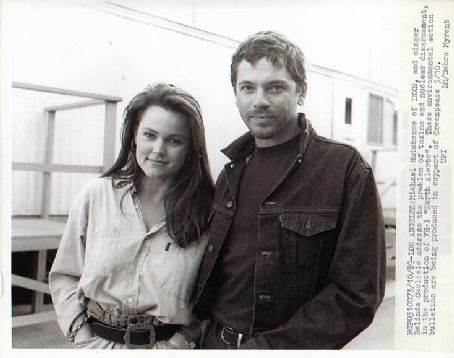 Belinda Carlisle  and Michael Hutchence