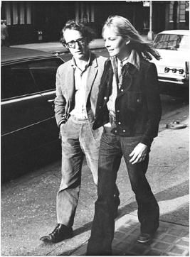 Woody Allen Diane Keaton and