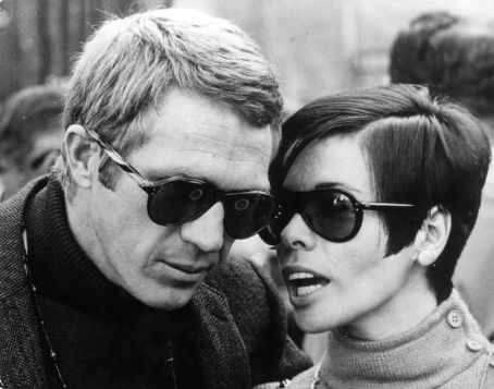 Steve McQueen Neile Adams and