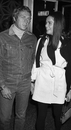 Steve McQueen Ali MacGraw and