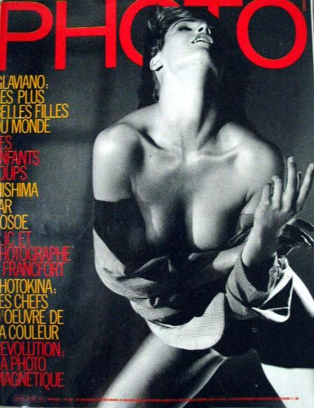 Stephanie Seymour - Photo Magazine Cover [France] (October 1986)