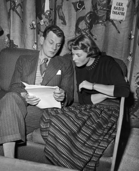 Ingrid Bergman Joseph Cotten and