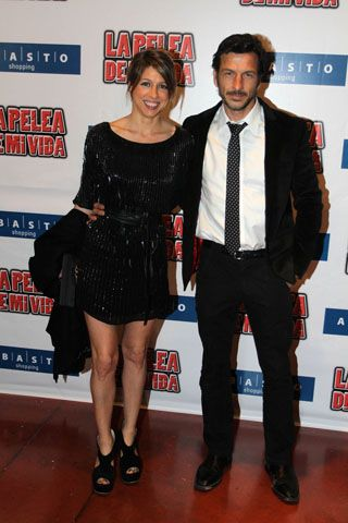 "Florencia Bertotti and Federico Amador at ""La Pelea de mi vida Premiere"" September 2012"