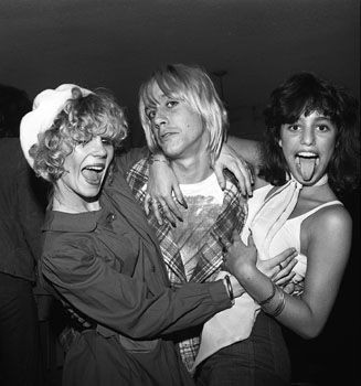 Iggy Pop Lori Maddox, Sable Starr &