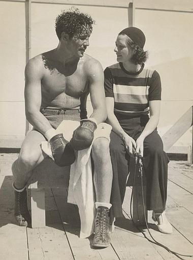 Myrna Loy Max Baer and