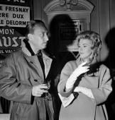 Jean Seberg  and Romain Gary