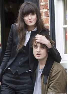 Irina Lazareanu Pete Doherty and