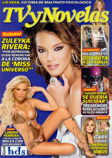 Zuleyka Rivera - TV Y Novelas Magazine [Mexico] (30 March 2009)