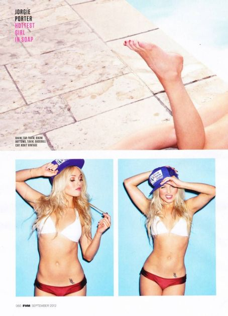 Zoe McConnell Jorgie Porter FHM UK September 2012