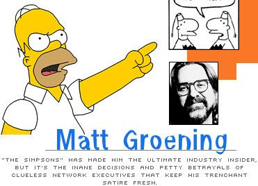 The Simpsons Matt Groening