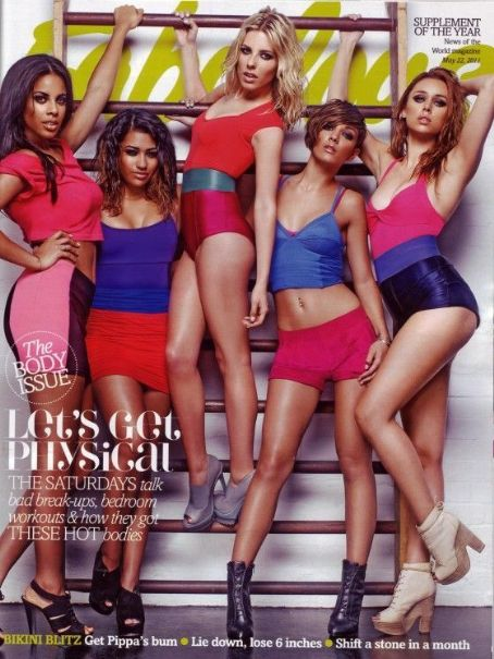Mollie King, Una Healy, Vanessa White, Rochelle Wiseman, Frankie Sandford - Fabulous Magazine Cover [United Kingdom] (21 May 2011)