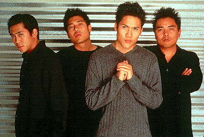 Dante Basco Dion Basco, Darion Basco,  and Derek Basco in 5 Card Productions' The Debut - 2001