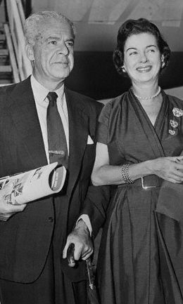 Joan Bennett  and Walter Wanger