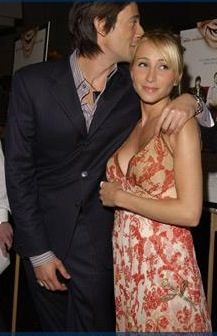 Adrien Brody  and Michelle Dupont