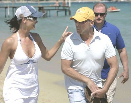 Bruce Willis  and Karen McDougal