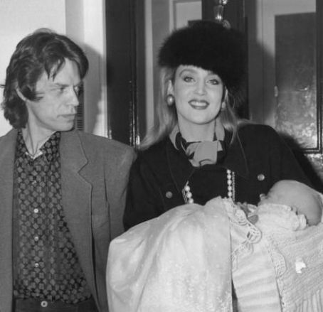 Mick Jagger Jerry Hall and