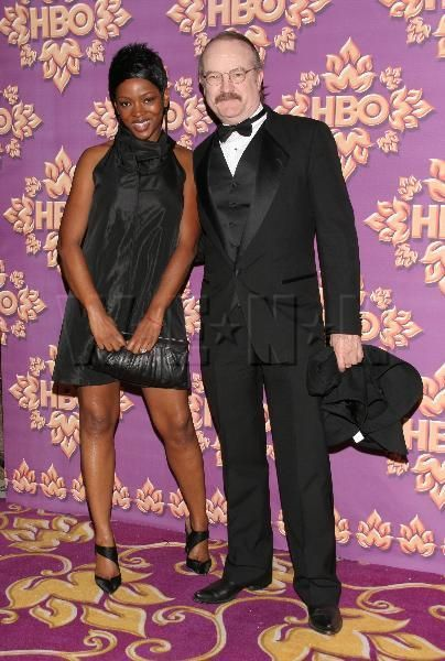 Jim Beaver  and Caroline Chikezie
